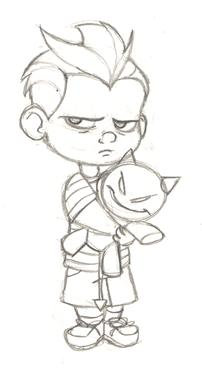 202x370 Toddler Jack Jack Sketch By Pixarvixen