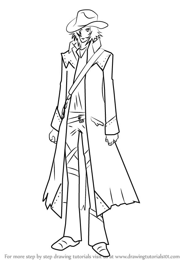 598x844 Learn How To Draw Toga Yagari From Vampire Knight (Vampire Knight