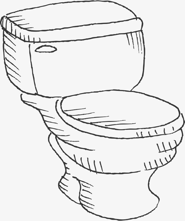 Toilet Bowl Drawing at GetDrawings.com | Free for personal use ...