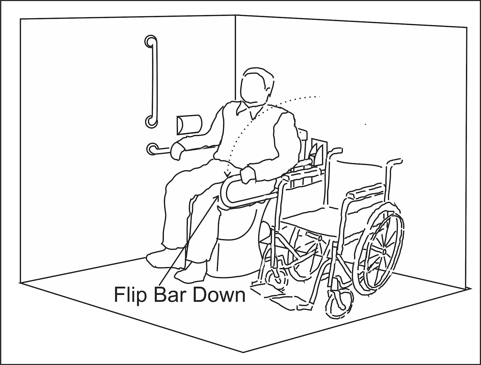 1600x1215 Wheelchair Access Penang (Wapenang) Toilet (Wc) For Disabled People