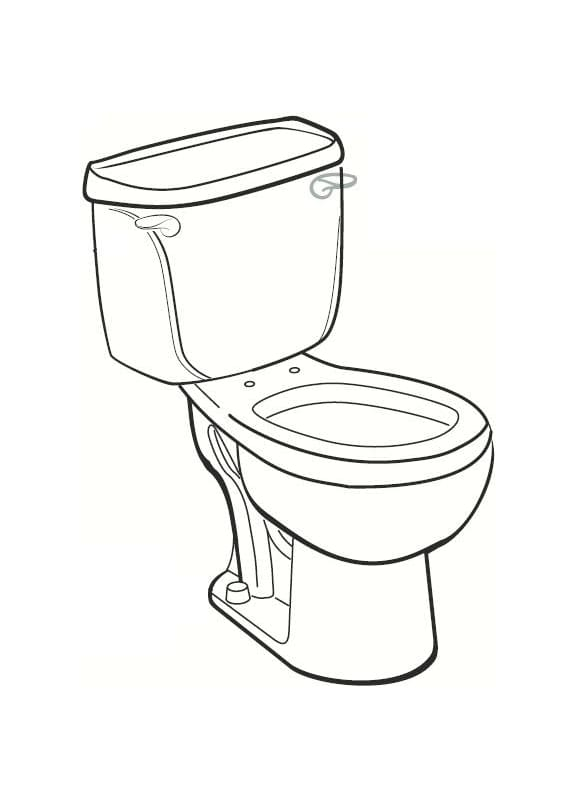 Toilet Bowl Drawing At Getdrawings Com Free For Personal