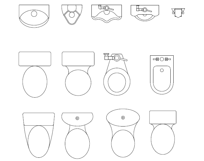 685x541 29 Images Of Template For Architectural Lavatories And Toilets