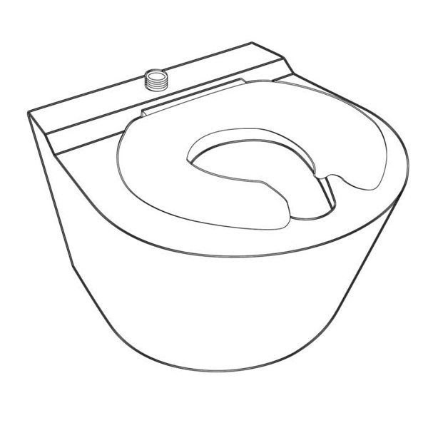 Toilet Line Drawing
