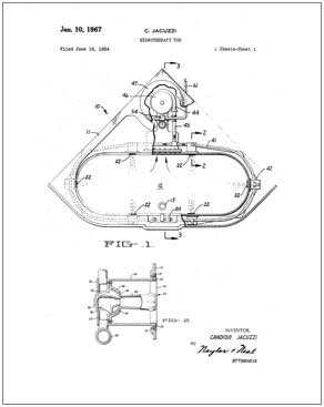 292x367 Household Items, Vintage Internet Patent Reproductions