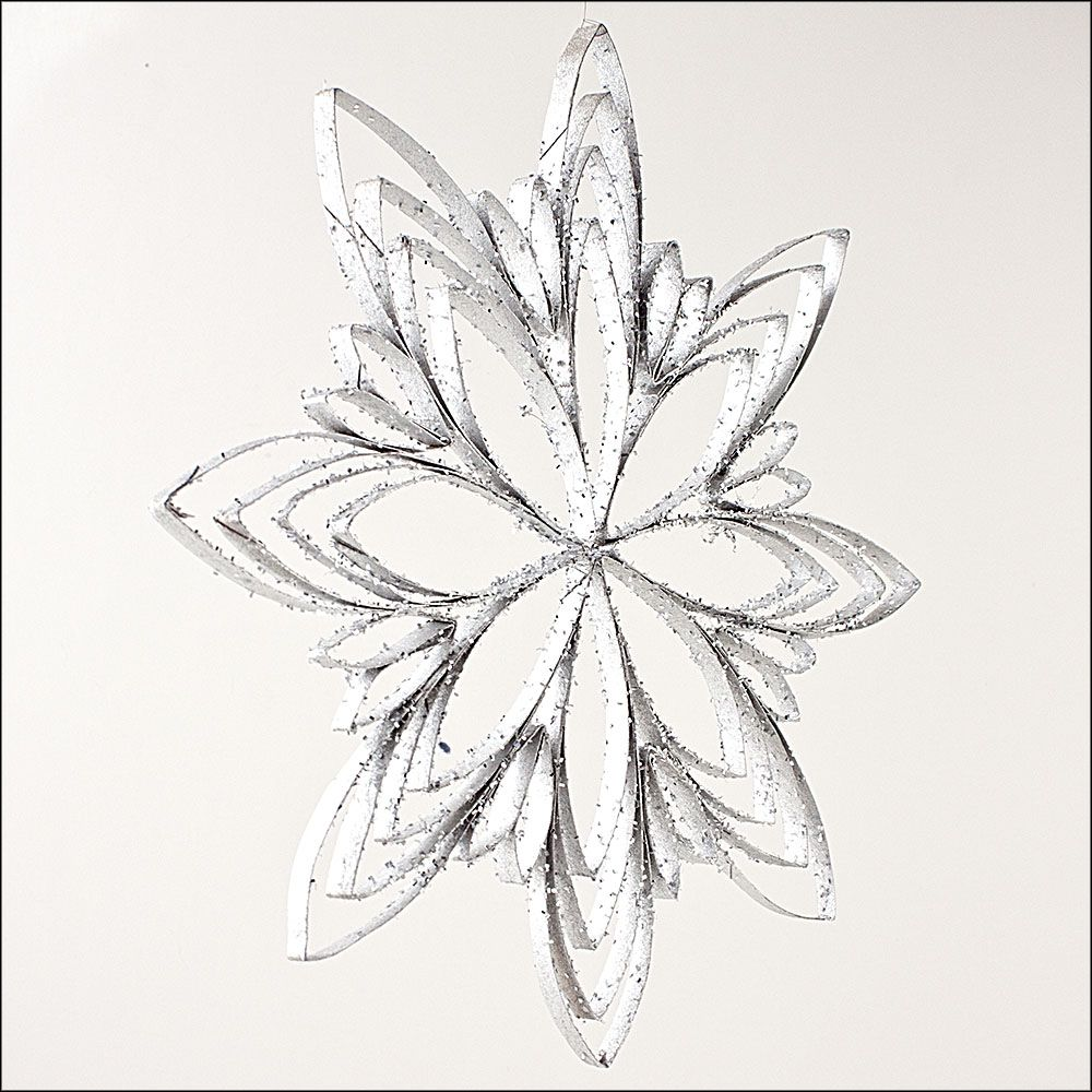 1000x1000 Snowflake From Toilet Paper Roll. Flatten Roll, Cut And Glue