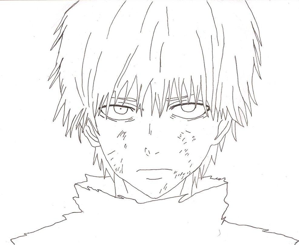 Tokyo Ghoul Drawing at GetDrawings