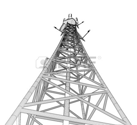 Tokyo Tower Drawing