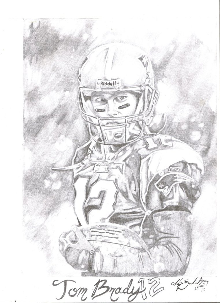 762x1049 Tom Brady By Anumbertwopencil
