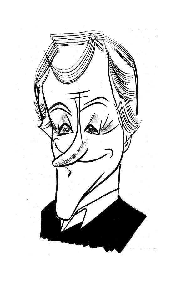 547x900 Dick Van Dyke Drawing By Tom Bachtell