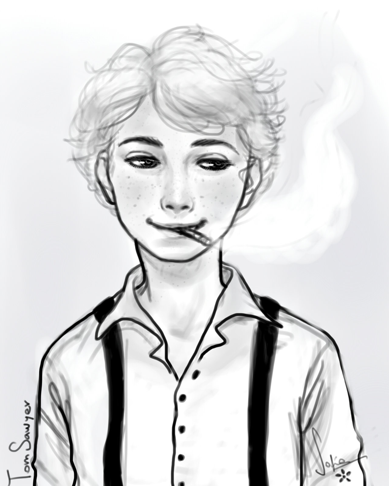 1280x1600 Tom Sawyer Fanart By Sofiachannel