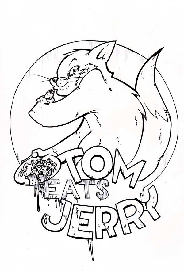 600x884 Tom Eats Jerry On Student Show