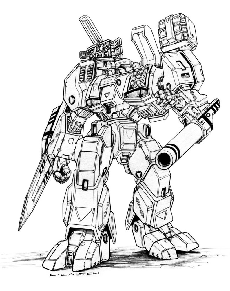 Tomahawk Drawing At Free For Personal Use 2007 Chevy Tahoe Fuse Box 794x1005 Robotech Mbr 05 Mk X Tomahawkdestroid By Chuckwalton