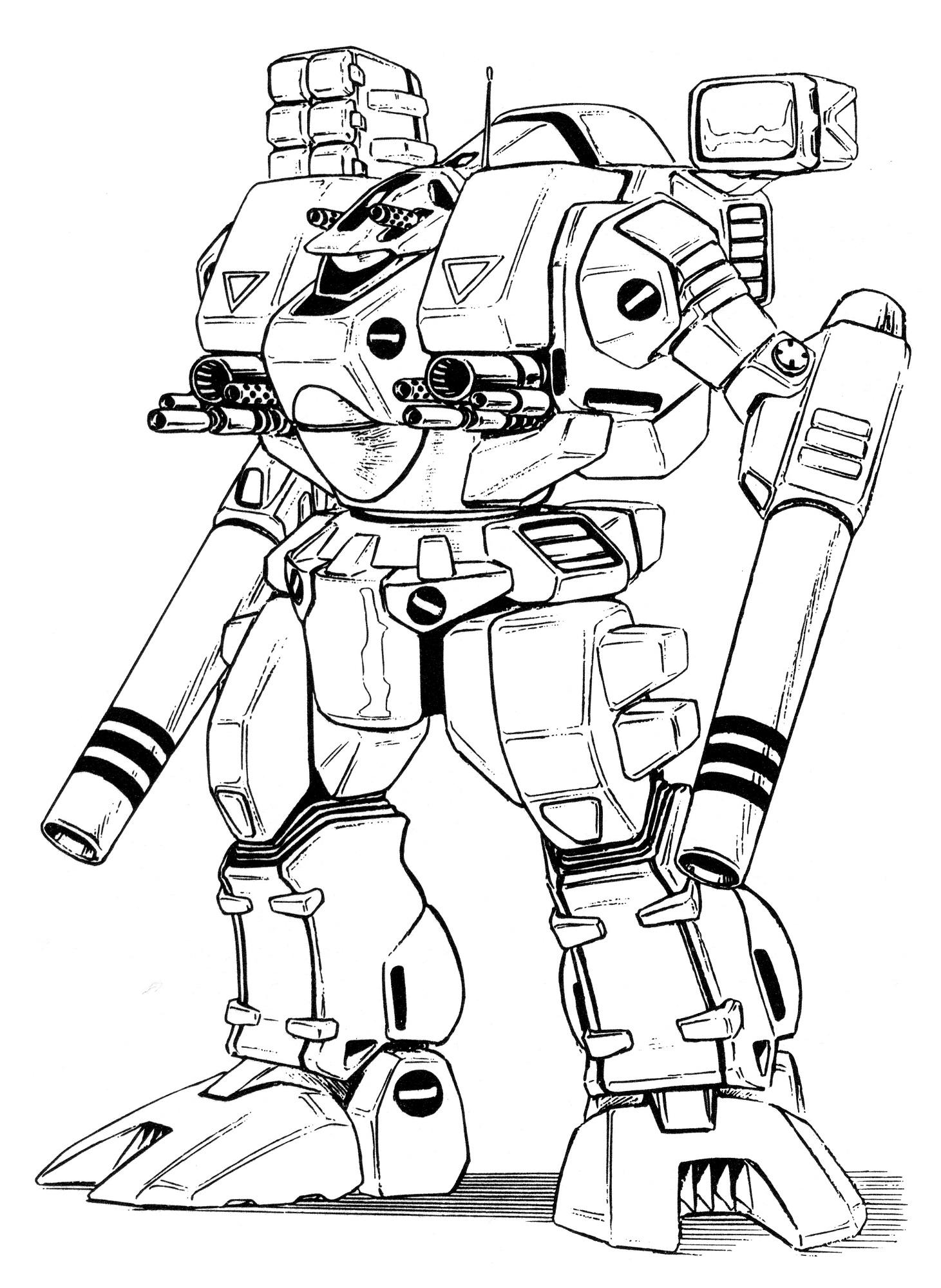 1461x2000 Vickers Chrysler Mbr 04 Mk Vi Tomahawk Main Battle Robot Gallery