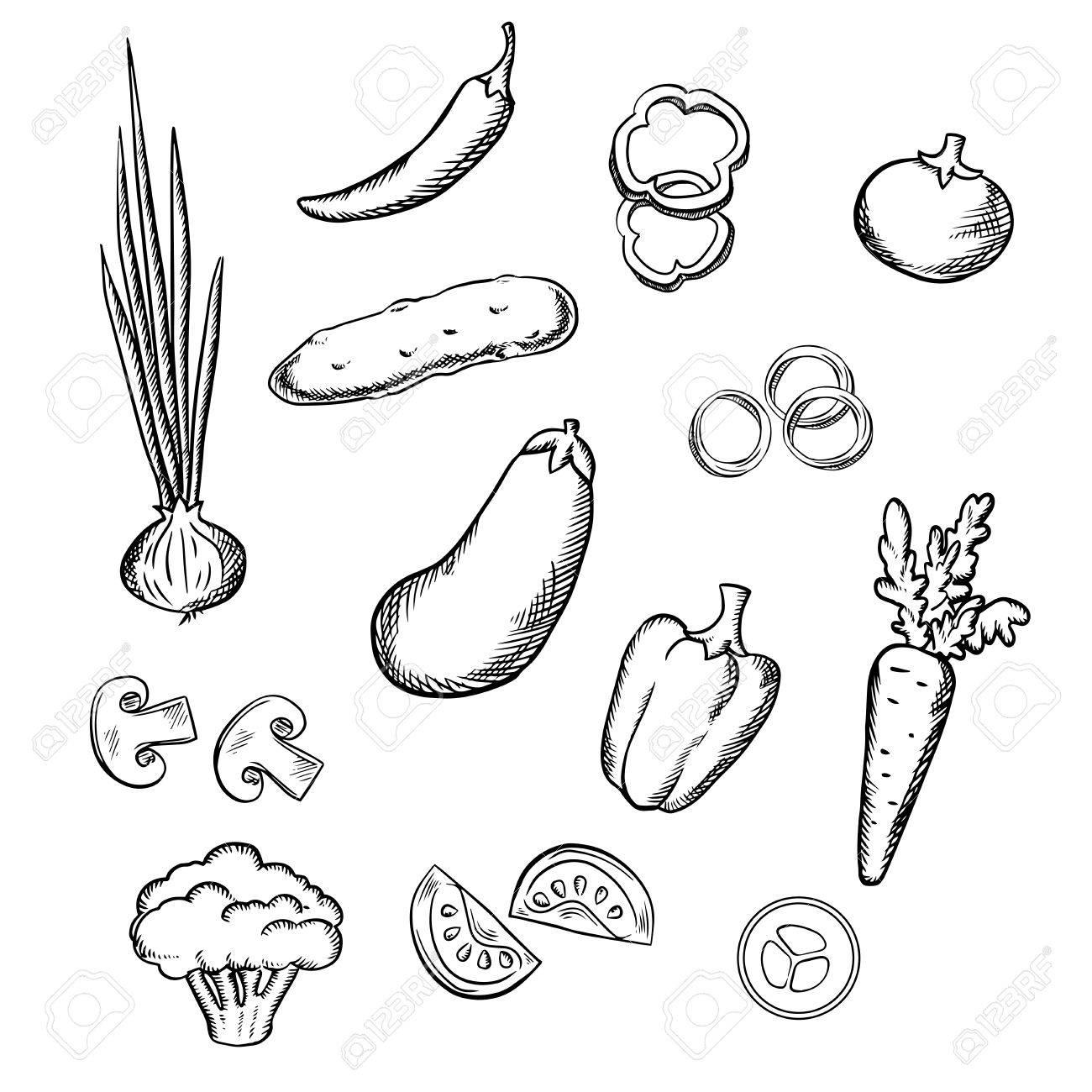 1300x1300 Fresh Healthful Tomato, Carrot, Cucumber, Eggplant, Onion