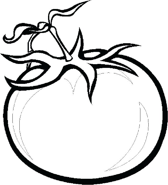 coloring pages tomatoes - photo#9