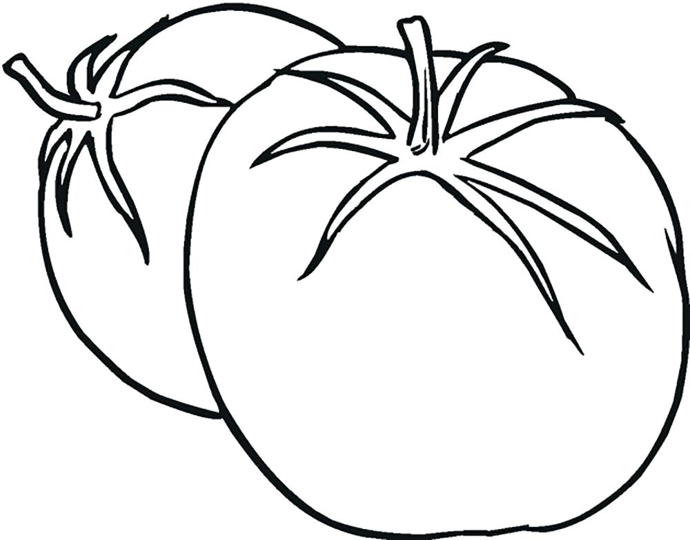 coloring pages tomatoes - photo#22