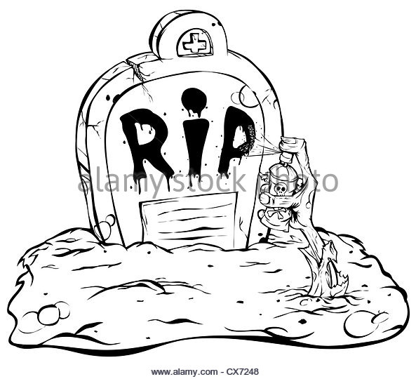 593x540 Cartoon Zombie Stone Tombstone Stock Photos Amp Cartoon Zombie Stone