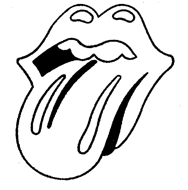 616x624 How To Draw The Rolling Stones Lips And Tongue Drawing