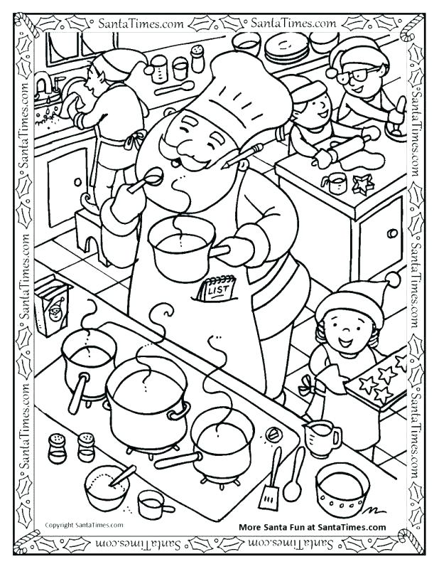 618x800 Tools Coloring Pages Kitchen Ideas Utensils Drawing Sketch