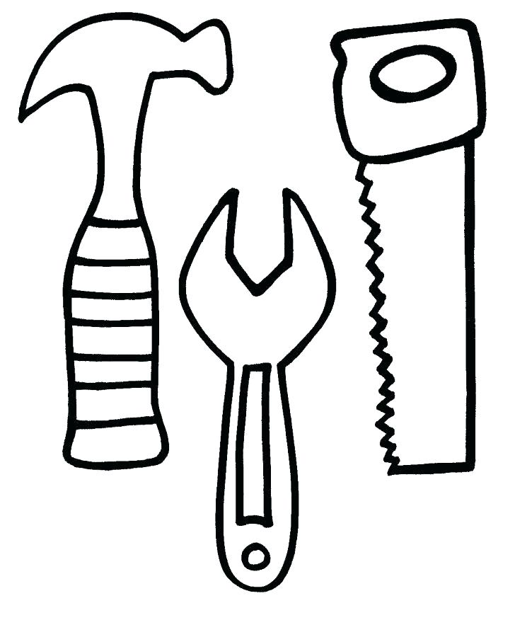 728x876 Tools Coloring Pages Kitchen Ideas Utensils Drawing Sketch