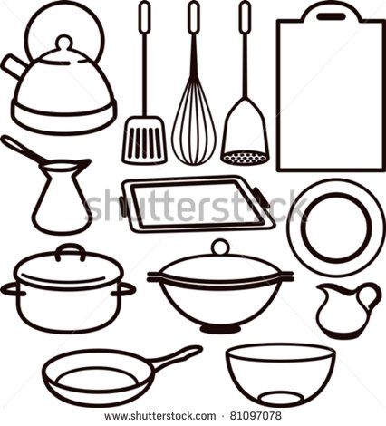 426x470 Astounding Kitchen Tools Drawing 88 In Hme Designing Inspiration