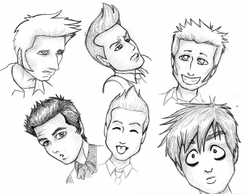 800x625 Green Day Toon Expressions By Kelly42fox