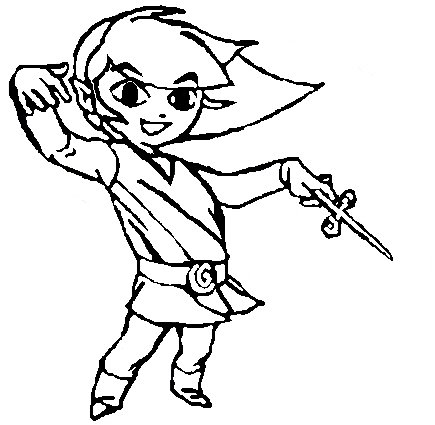 435x425 Toon Link By Goryfun