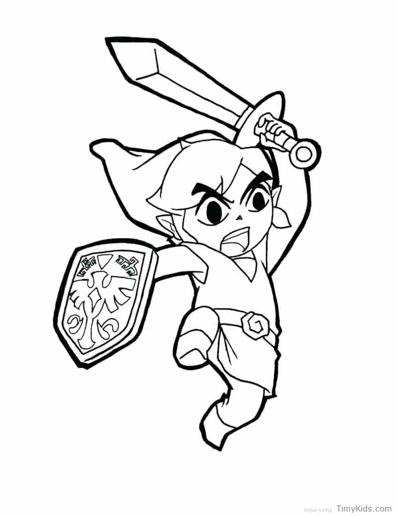 800x1040 Coloring Toon Link Coloring Pages Pictures. Toon Link Coloring Pages
