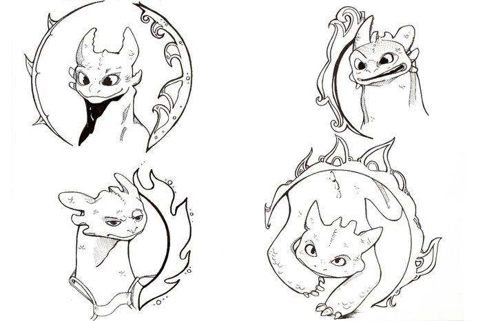 720x466 Toothless Dragon By Sgirdley