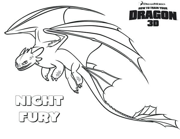 toothless the dragon coloring pages - toothless dragon drawing at free for