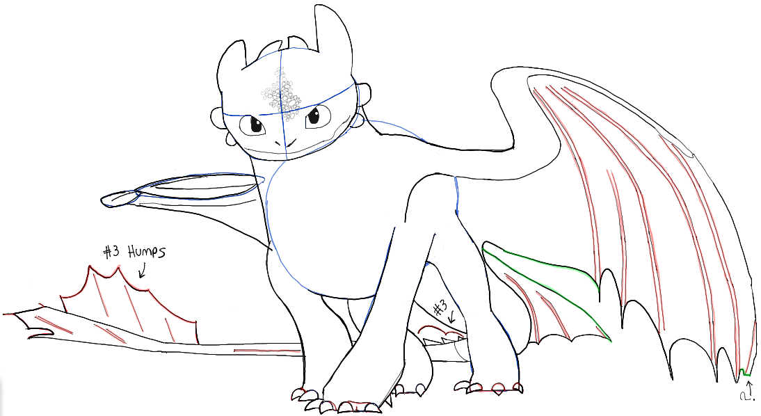 1094x598 How To Draw Toothless. ) My Artsy Stuff Toothless