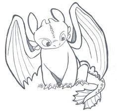 236x225 Draw Toothless Toothless, Drawings And Dragons