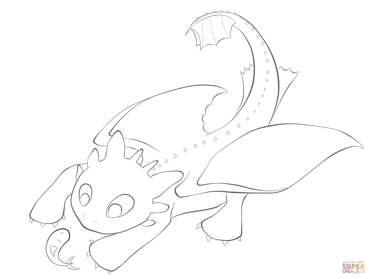 1575x1188 Toothless Dragon Coloring Pages