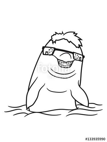 375x500 Nerd Geek Cunning Horns Pimple Freak Toothpick Grin Comic Cartoon