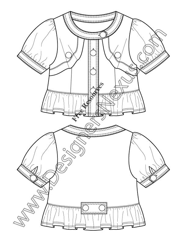 612x792 Free Downloads Illustrator Top Flat Sketches