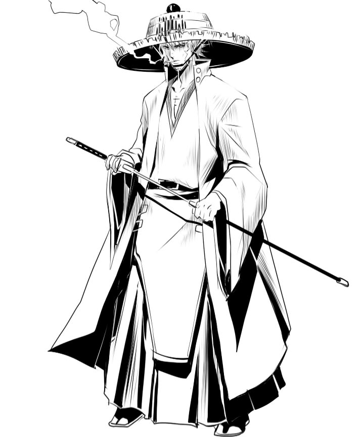 720x864 Samurai Top Hat Spoiler By Kenshinro7