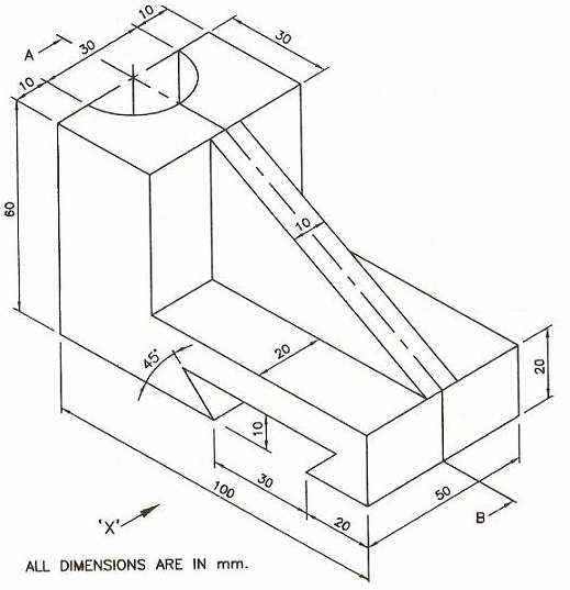 519x537 Engineering Drawing And Graphics