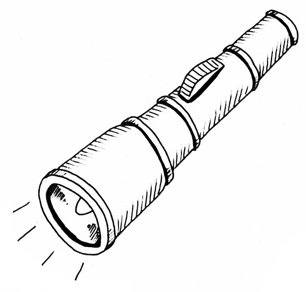 The best free Flashlight drawing images  Download from 95