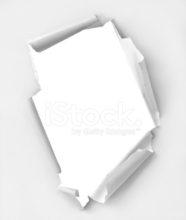 373x440 Hole Ripped Paper Stock Photos