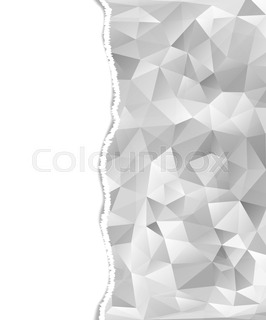 266x320 Torn Paper Pieces Banners. Vector Eps10 Illustration. Design