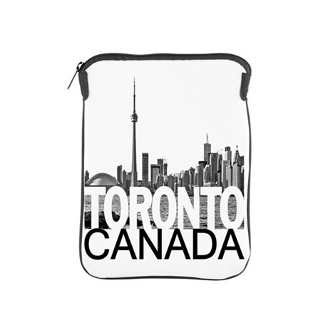 460x460 Toronto Skyline Ipad Sleeve By Theallcity