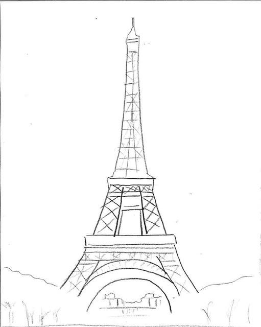511x640 Plantillas De La Torre Eiffel. Ideas Y Material Gratis Para