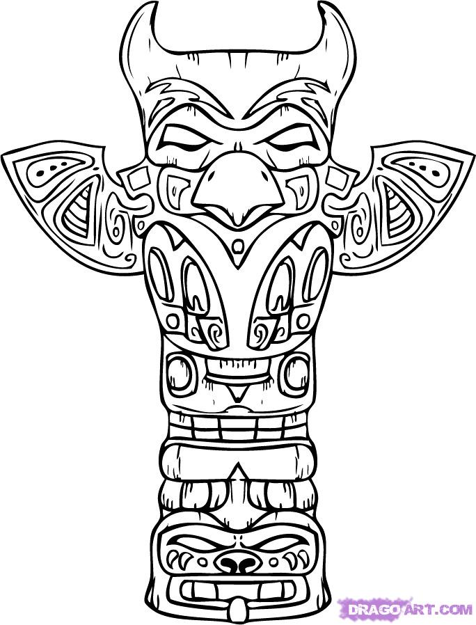 684x898 How To Draw A Totem Pole Step 9.jpg 102114 Bytes, Created June