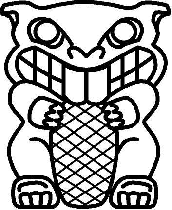 Totem Pole Drawing