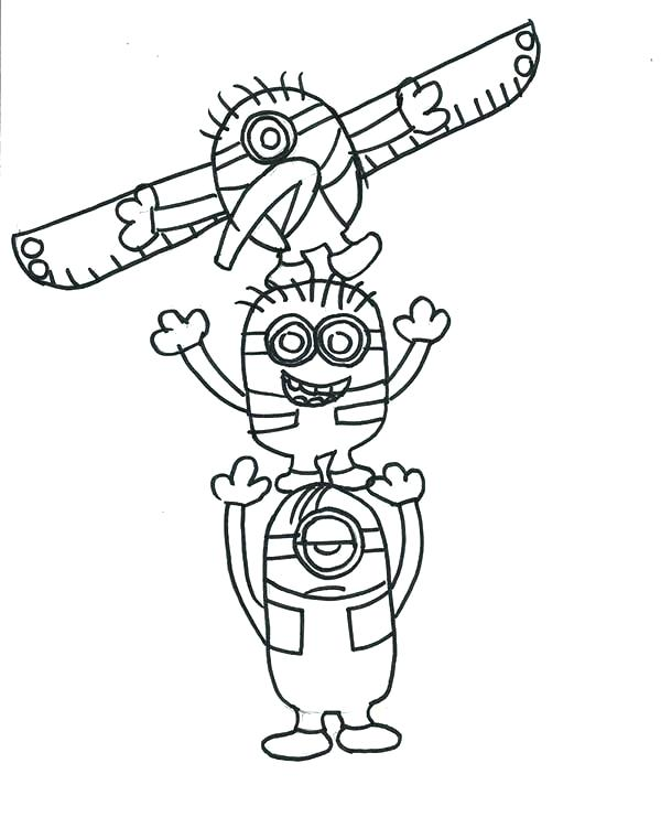600x751 North Pole Coloring Pages This Is Totem Pole Coloring Pages Images