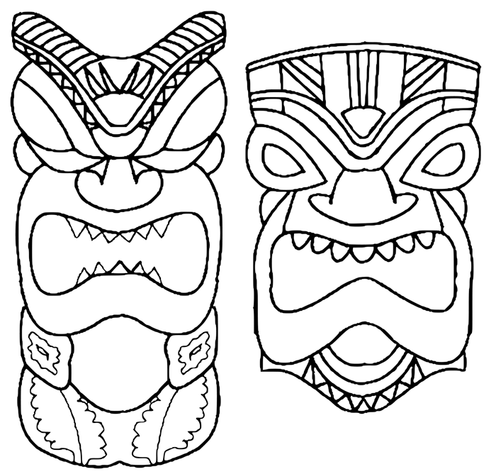 Totem Pole Drawing at GetDrawings.com | Free for personal use Totem ...