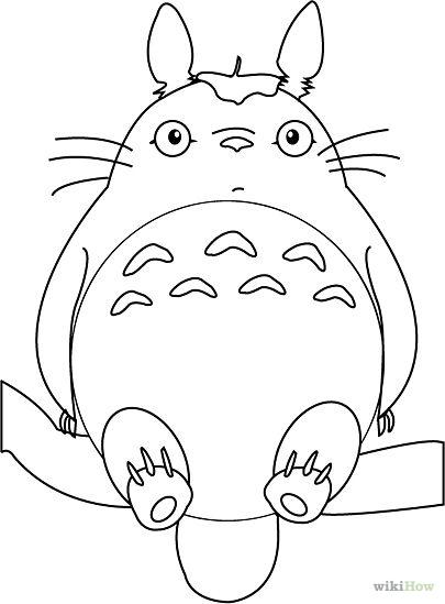 405x549 Draw Totoro Totoro, Studio Ghibli And Miyazaki
