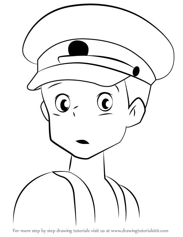 612x792 Learn How To Draw Kanta Okagi From My Neighbor Totoro (My Neighbor