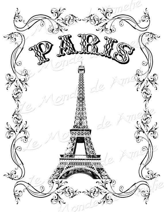 Tour Eiffel Illustration
