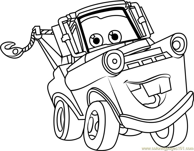 Disney Cars Tow Mater Clip Pen
